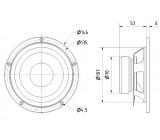Basový-středový reproduktor 13 cm (5