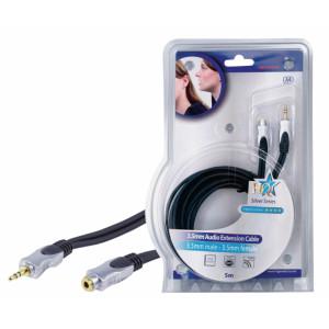 Kvalitní prodlužovací audio kabel, 5,00 m