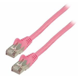 Patch kabel FTP CAT 6, 30 m, růžový