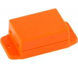 Plastová skříň 50 x 35.4 x 22 mm Oranžová ABS IP 00