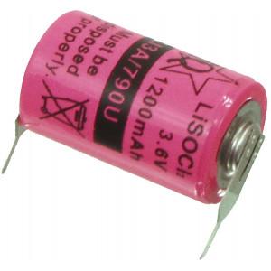 Lithium thionyl chloride battery 3.6 V 1200 mAh