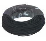 Stereo Audio Kabel na Cívce 2x 0.12 mm² 100 m Černá
