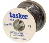 Telefonní Kabel na Cívce 6x 7/0.12 - 100 m Černá