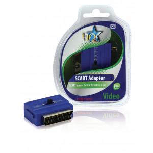 SCART ADAPTER SCART HANE - 3x RCA HONA IN+UT