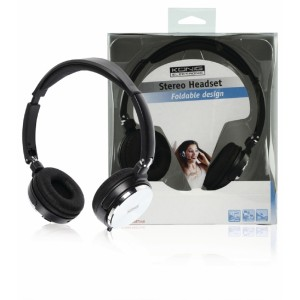 Skládací stereo headset