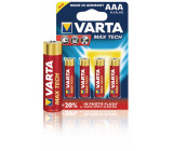 Alkalické baterie AAA/LR03 1.5 V MaxiTech blistr 4 ks