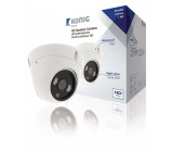Kopulová CCTV kamera Bílá