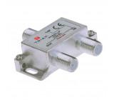 CATV Rozbočovač 1.7 dB / 5-2400 MHz - 1