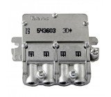 Satelitní Rozbočovač 8.5 dB / 5-2400 MHz - 3 Výstupy