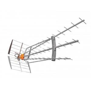 DVB-T/T2 Venkovní anténa 47 dB UHF