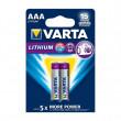 Lithiová Baterie AAA 2-Blistr