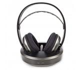 Bezdrátová Sluchátka | Rádiová Frekvence (RF) | Over-ear | Nabíjecí Základna | Černá / Stříbrná