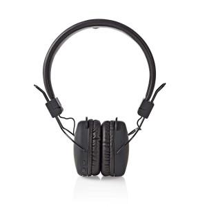 Bezdrátová Sluchátka   Bluetooth®   On-ear   Skládací   Černá barva