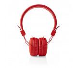 Bezdrátová Sluchátka | Bluetooth® | On-ear | Skládací | Červená barva
