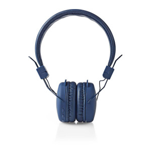 Bezdrátová Sluchátka | Bluetooth® | On-ear | Skládací | Modrá