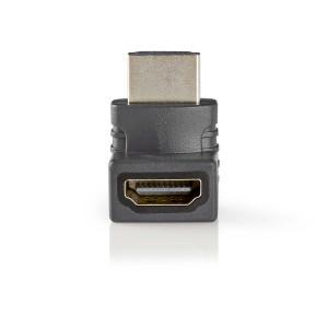HDMI™ Adaptér   HDMI™ Konektor Úhlový 270° - HDMI™ Zásuvka