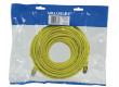 Patch kabel FTP CAT 5e, 20 m, žlutý