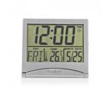 Digitální Cestovní Budík | Datum / Teplota | Stříbrná