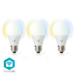 Chytré WiFi LED Žárovky | Teplá až Studená Bílá | E27 | Balení po 3