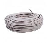 Síťový kabel CAT5e F/UTP | Pevný - 100 m | Šedá barva