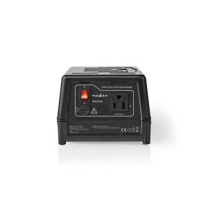 Měnič napětí | 230 V AC – 110 V AC | 300 W | Uzemněný USA Výstup