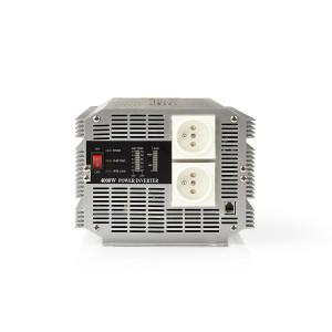 Měnič, Modifikovaná Sinusová Vlna | 12 V DC – 230 V AC | 4 000 W | 2x Zemnicí Kolík | Dálkový Ovladač