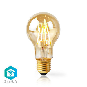 WiFi Chytrá LED Žárovka s Vláknem | E27 | A60 | 5 W | 500 lm