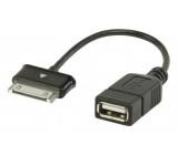 USB 2.0 A - Samsung 30-pin OTG datový kabel 0.20 m