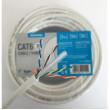 Technetix CAT6 UTP In home Installation Cable - 20M White Eca