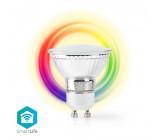 Wi-Fi Chytrá LED Žárovka | Barevná a Teplá Bílá | GU10