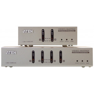 Video/audio matrix VGA, 2 – 2-port