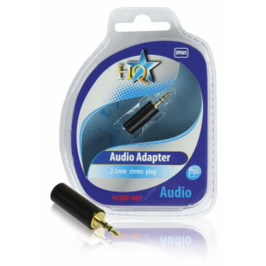 HQ - AUDIOADAPTER 2.5mm PLUGG
