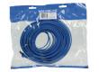 Plochý patch kabel FTP CAT 6, 15 m, modrý