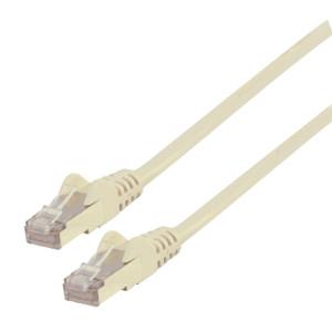 Patch kabel FTP CAT 6a, 5 m, bílý