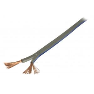 Šedý reproduktorový kabel 2x 1.50 mm² 100 m