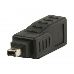 FireWire adaptér 9-pin zásuvka na 4-pin zástrčka
