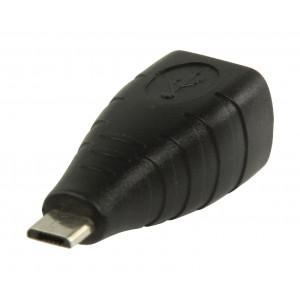 Adaptér USB 2.0, zásuvka USB B – zástrčka USB micro B