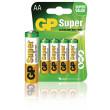 Battery alkaline AA/LR6 1.5 V Super 4-blister