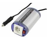 Měnič napětí 12 - 230 V 150 W s USB, zásuvka CZ