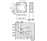 AC fan 80x80x38 mm