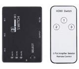 HDMI přepínač 3x HDMI s ovládačem PS3 /HDMI switch/