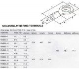 Oko kabelové 10,5mm,kabel 50-70mm2 (RNB 60-10)