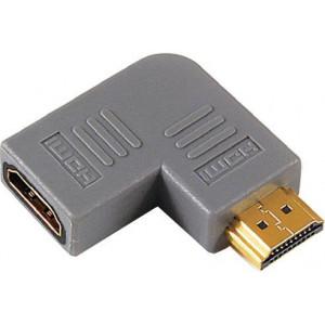 Redukce HDMI(A) zdířka-HDMI(A) konektor úhlová
