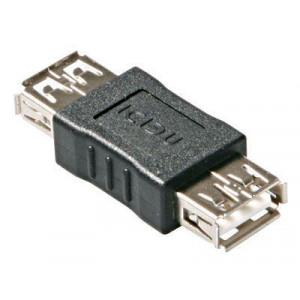 Spojka USB(A) - 2x zdířka