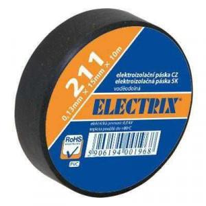 Izolační páska 0,13x15mmx10m ANTICOR - černá