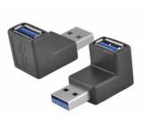 Redukce USB 3.0 úhlová