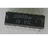 D347D - převodník BCD/7.segment, DIL16 /SN7447N/