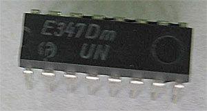 E347D - převodník BCD/7.segment, DIL16 /SN7447N/