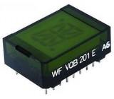 VQB201E zobrazovač 16.segment, zelený, RFT