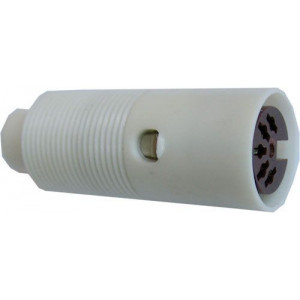 DIN zdířka 5 pol.na kabel 6AK18026